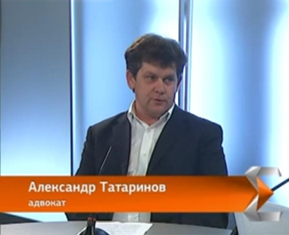 адвокат Татаринов на программе Качаем права