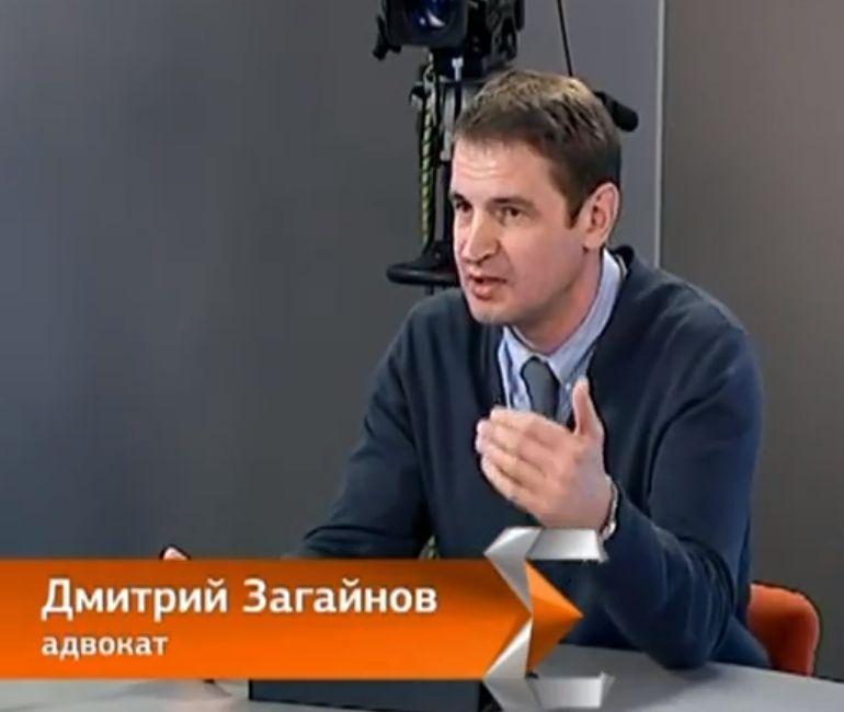 адвокат Загайнов на ЕТВ